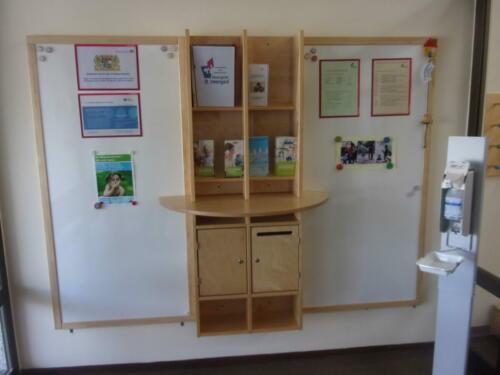 Eingangsbereich - Whiteboard